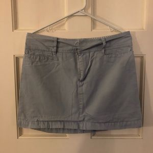 Old Navy Cotton Mini Skirt